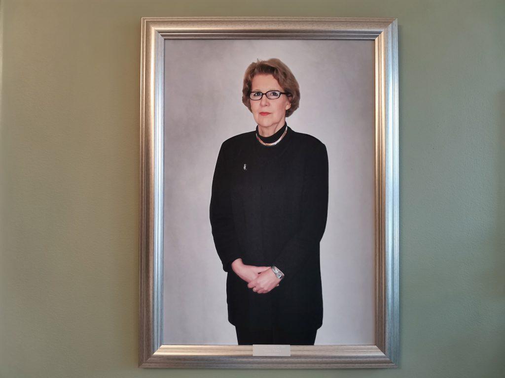 Lilinkotisäätiön ensimmäinen toiminnanjohtaja Leena Juslin.