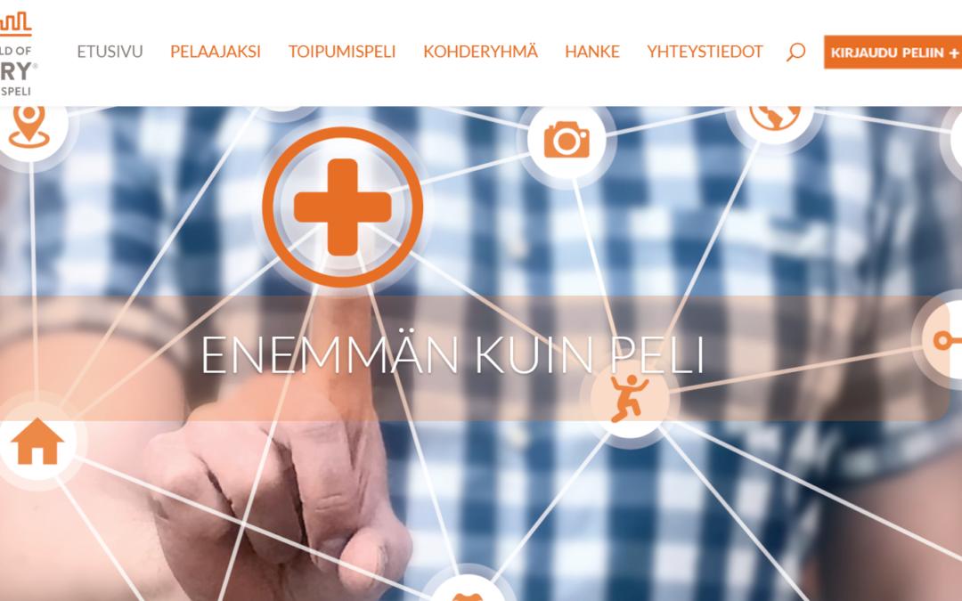 Esittelyssä The World of Recovery -hankkeen hanketyöntekijä Venla Leimu