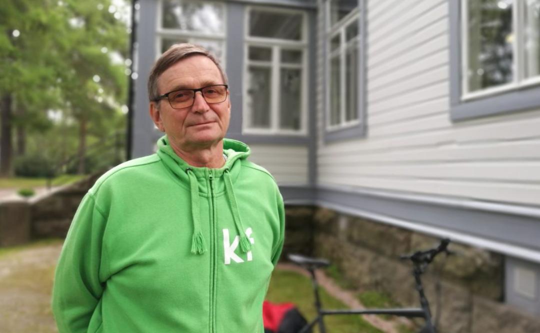 Sota apatiaa vastaan on pitänyt kehittämispäällikkö Heikki Hyvösen liikkeessä